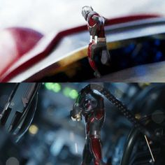 #AntMan disarming #IronMan #CaptainAmericaCivilWar  This is your conscience. We haven't talked in awhile.