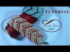 "Tutorial macrame bracelet ""Alice ""/ Diy tutorial - YouTube"
