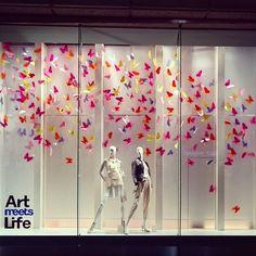"SEIBU SHIBUYA, Japan, ""Leanne... We are like butterflies who flutter for a day…"