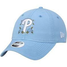 Women s Philadelphia Phillies New Era Blue Bloom 9TWENTY Adjustable Hat 864de7e8b