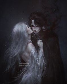 """""""It's true, You are stronger, wiser, infinite in experience."""" """"But I am an apt pupil."""" Finish an old sketch of Alina and The Darkling, I… Dark Fantasy Art, Fantasy Artwork, Foto Fantasy, Fantasy Love, Fantasy Kunst, Final Fantasy, Character Inspiration, Character Art, Fantasy Couples"""
