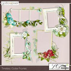 Timeless: Digital Scrapbook frames. $2.99 at Gotta Pixel. www.gottapixel.net/