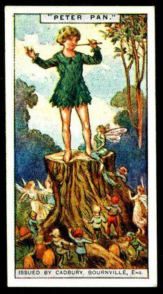 Cadbury Tradecard - Peter Pan | by cigcardpix
