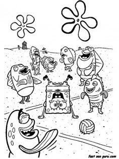 spong bob coloring sheets for kids | spongebob coloring pages 1 ... - Spongebob Coloring Pages Boys