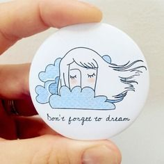 """Spilla """"don't forget to dream"""" Decorative Plates, Forget, Creativity"""