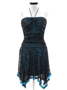 55c956c5446 Retro 90s Cocktail Dress (Taboo)   90s -Taboo- Womens dark brown and