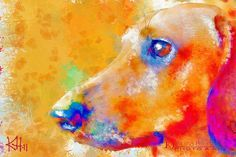 dachshund art | Tumblr