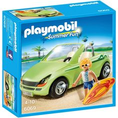 Playmobil 6069 Surfer with Convertible Car. Bought with £50 from Karen, Michelle and families.