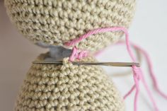 How to join amigurumi pieces? | lilleliis