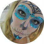 * Angel of Berlin: [DIY] Sugar Skull for Halloween {re-post}