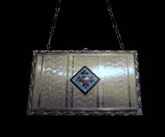 1910s Compact Purse Vintage Compact Powder by PowerOfOneDesigns, $169.99