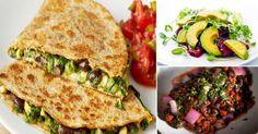 Las quesadillas son un plato típico de México. Se preparan con tortillas de maíz y su ingrediente principal es el queso, de donde proviene su nombre. Se las puede armar colocando el relleno dentro de una tortilla doblada, o entre dos de ellas.Cuando se escoge esta opción, se las llama quesadillassincronizadas.  3 propiedades de los frijoles negros  Tienen un alto contenido proteico, motivo por el cual son perfectos para los vegetarianos, y para aquellas personas que deciden eliminar de su…
