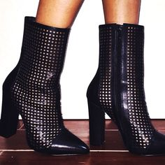 Alexandra in the #ShoeCult Holy Grail Leather Bootie || Get the boots: http://nastygal.com/shoes-shoe-cult/shoe-cult-holy-grail-leather-bootie?utm_source=pinterest&utm_medium=smm&utm_term=ngdib&utm_content=the_cult&utm_campaign=pinterest_nastygal