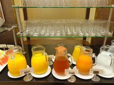 Breakfast @ Restaurace Brasserie Délice Prague, Bar Cart, Furniture, Home Decor, Brewery, Dessert Table, Interior Design, Home Interior Design, Arredamento