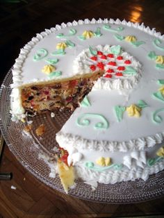 English Wedding Cake LOVE Its A Fruit