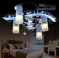K9 Crystal Glass Ceiling Light Modern Fashion Minimalist Chandelier Living Room Light 56cm*20cm