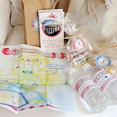 DIY Wedding Favors: Wedding Favor Ideas from MyRecipes.com  water bottles