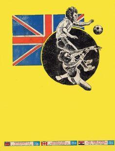 Panini's Football '81 (Rear Cover)