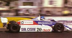 Chico Serra here with the Fittipaldi-Cosworth F8D in Monte Carlo in 1982: