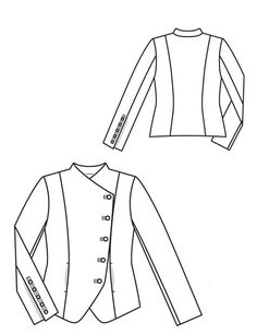 View details for the project Crossover Blazer 06/2012 on BurdaStyle.
