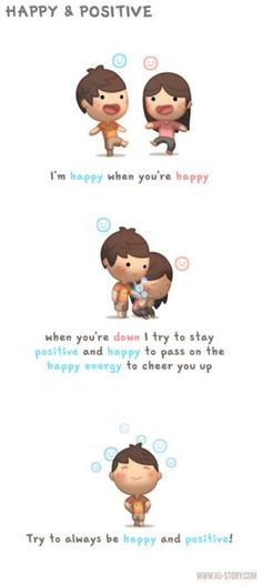 Happy and Positive by hjstory on @DeviantArt