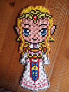 Zelda hama beads by beadstoterabithia