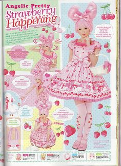 Angelic Pretty Cherry Berry Bunny Kera Ad p1