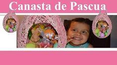 Manualidades Charli-Charli's DIY Crafts - YouTube como hacer una canasta del dia de pascua How to make a Easter Basket Canasta para el dia de pascua