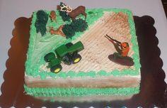 hunting cake pinterest | cake & cupcake ideas / Hunting cake