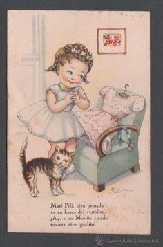0946D - EDICIONES ARTIGAS - SERIE 113 - AVENTURAS DE MARI PILI COLECC. A - ILUSTRA GIRONA (Postales - Dibujos y Caricaturas)