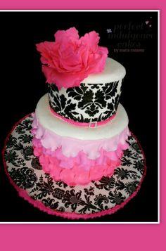 Damask cake adorable