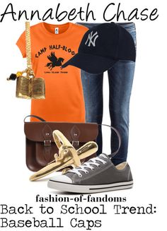Annabeth Chase~ such a strong girl character who never gives up on those she loves (at least in the books)