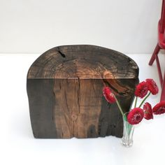 LOVE Tree Stump Coffee End Side Sofa Table Ebony by realwoodworks1, $345.00 FOR YOUR BETTER HALF!!