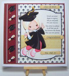 GRADUATION GIRL 7.5 Decoupage & Insert Mini Kit - CUP889528_68 | Craftsuprint