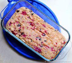 Low Fat Raspberry Quick Bread