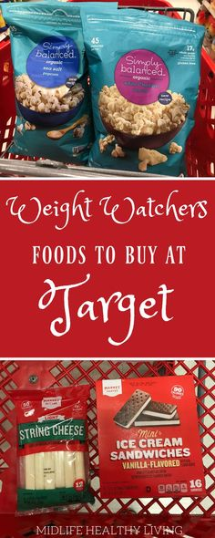 printable shopping lists have been a big hit so we've put together another one for you! Check out this Weight Watchers foods to buy from Target. This list is broken down by the popular brands at Target and categorized by Freestyle points in each servin Weight Watcher Desserts, Weight Watchers Snacks, Weight Watchers Tipps, Weight Watchers Smart Points, Weight Watcher Dinners, Weight Watchers Products, Weight Watchers Restaurant Points, Weight Watcher For Free, Weight Watcher Breakfast