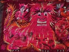 travel photo blog - India, SE Asia, China - lots of textiles (in Japanese)
