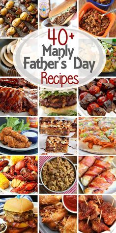 Treat Dad for Father's Day with his favorite foods -- meat, bacon, beer and treats! Recipes for Father's Day to make any celebration perfect! ~ http://www.julieseatsandtreats.com