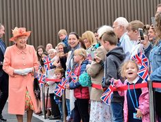 Queen Elizabeth Opens a New Highland Spring Factory