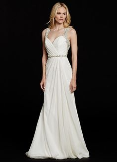 """portia"" wedding gown by hayley paige 
