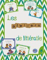 La littératie/ Les 5 au quotidien Education And Literacy, French Education, Kindergarten Literacy, Literacy Activities, Literacy Centers, Learning Centers, Daily Five Cafe, Daily 5, How To Speak French