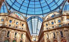 Galleria Vittorio Emanuele II in Milano, Lombardia