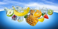 Find Many Fruits Splashes Into Water stock images in HD and millions of other royalty-free stock photos, illustrations and vectors in the Shutterstock collection. Thousands of new, high-quality pictures added every day. Juice Cup, Fruit Juice, Mixed Fruit, Fresh Fruit, Banner Design, Lava, App Design, Banners, Free Background Photos