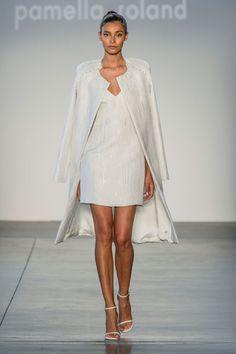 Pamella Roland at New York Fashion Week Spring 2017 - Runway Photos