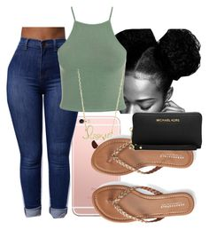 Meet me at the let out by diathelitt on Polyvore featuring polyvore fashion style Aéropostale Michael Kors Sydney Evan clothing