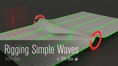 3DS Max Tutorial - Rigging Waves