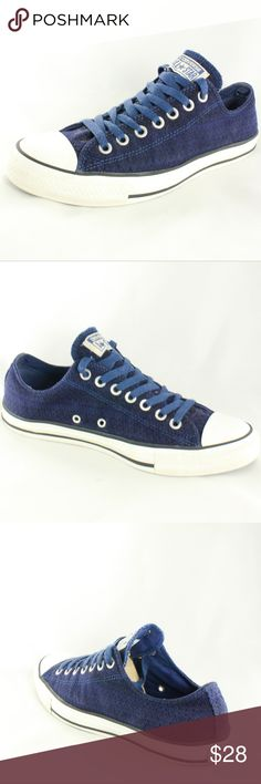 CONVERSE Chuck Taylor All Star Ox Zig Zag Sneakers Great color, clean all around inside and out, and this style is no longer in production, so pick up this classic and add it to your closet.  Size 8.5 MENS Size 10.5 WOMENS Converse Shoes Sneakers