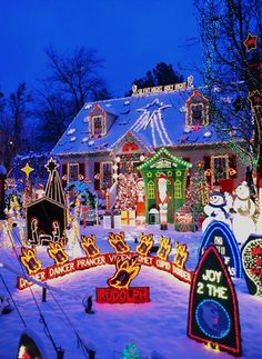 CONTROLLING Craziness: Tacky Light Tours - website with locations of over the top Christmas light displays