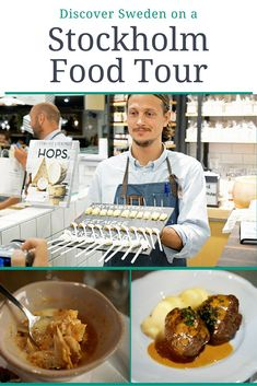 Discover Sweden on a Stockholm Food Tour. Sweden has such great food. Don't miss any of it! This food tour is really fantastic.