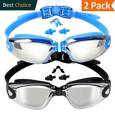 d39597d4cc66 EVERSPORT Swim Goggles (2 Pack or 1 Pack)